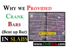 WHY CRANK BARS PROVIDED IN SLAB 2