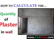 How to Calculate Quantity of Plaster? 8
