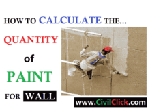WHAT IS THE QUANTITY OF PAINT CALCULATION FORMULA 7