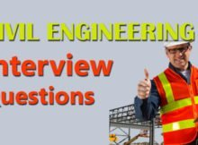 CIVIL ENGINEERS INTERVIEW QUESTIONS 17
