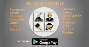 Building & Construction materials app for civil engineers 1