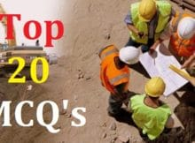 Top 20 Civil engineering Mcqs and Answers 15