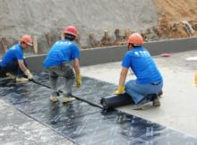 waterproofing membrane sheet