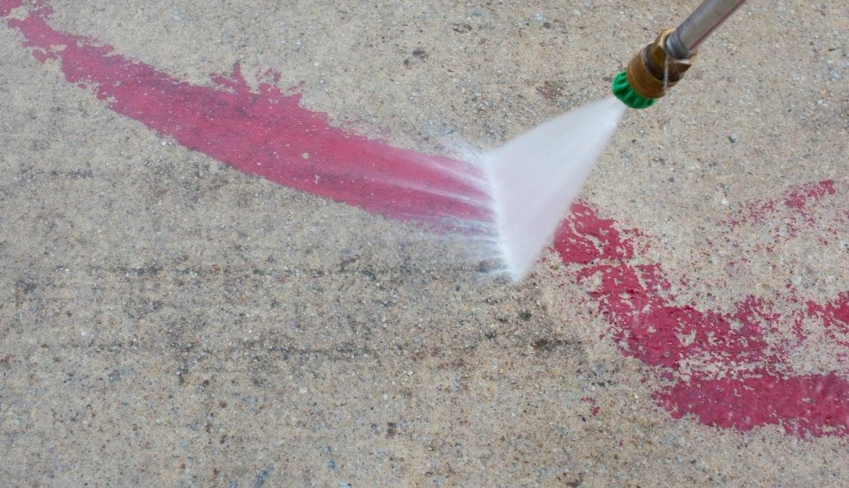 How To Remove Paint From Concrete 8