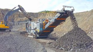 fine aggregate Stone Screening