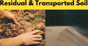 residual & transported soil