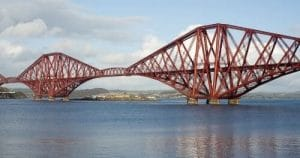 cantilever bredge ( Forth Bridge Scotland)
