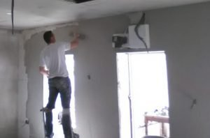 plaster partition wall