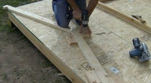 make the rafter jig