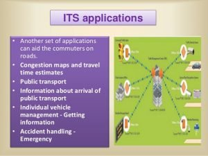 Applications of the intelligent transportation system