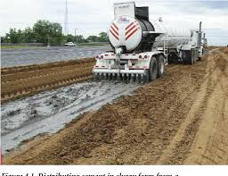 Cement modified soil